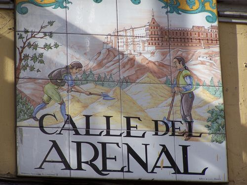 Madrid-Calle del Arenal