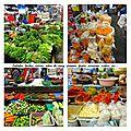 tour au marché