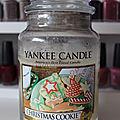 Review : Bougie <b>Christmas</b> <b>Cookie</b> de Yankee Candle