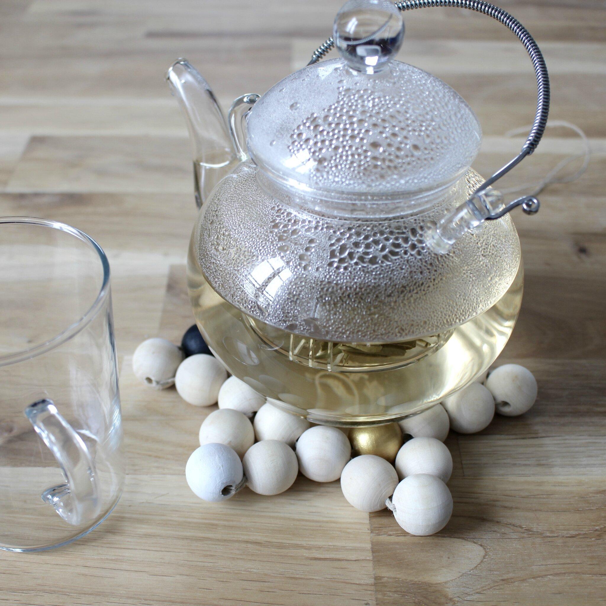 Etoiles perles bois