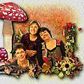 de chant avec kit Barwy Jesieni by Mago