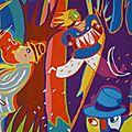 Illustration affiche / Projet non retenu / Festival en Forêt