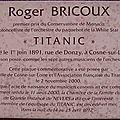 Roger Bricoux de Monaco, musicien sur le Titanic