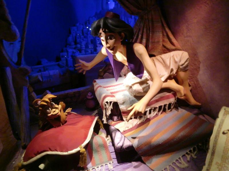 le passage enchanté d'Aladin...