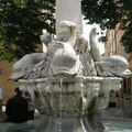 0555 - Fontaine des 4 Dauphins Aix 16 juin