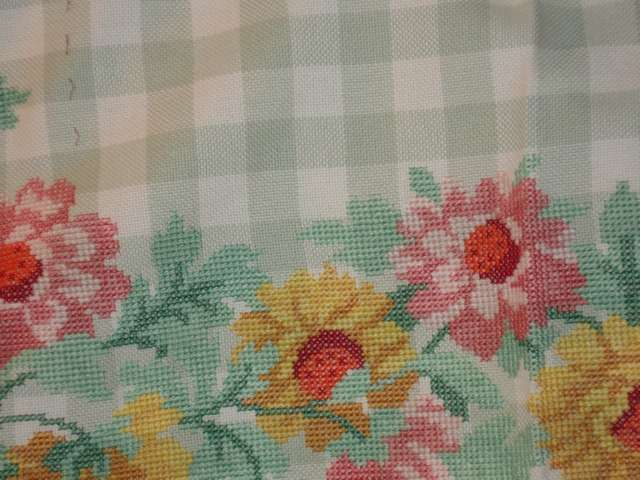 Nappe fleurs - détail