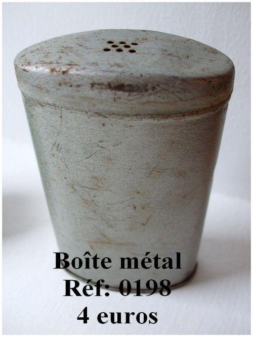 boîte métal