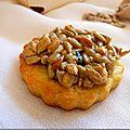 *biscuits aux graines de tournesol*