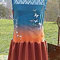 robe Papillon colle résille Esprit de Fée