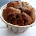 Muffins chocolat au lait-fruits rouges