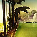 Les dinosaures ont envahi les toilettes de Japan Expo