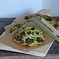 Blinis courgettes & champignons