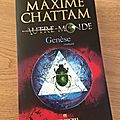 J'ai lu Genèse - <b>Autre</b> <b>monde</b> de Maxime Chattam