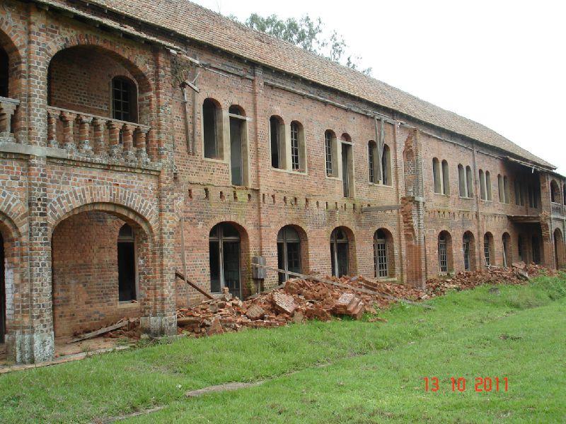 bâtiment en ruine