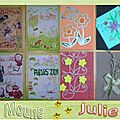 cartes julie et moune