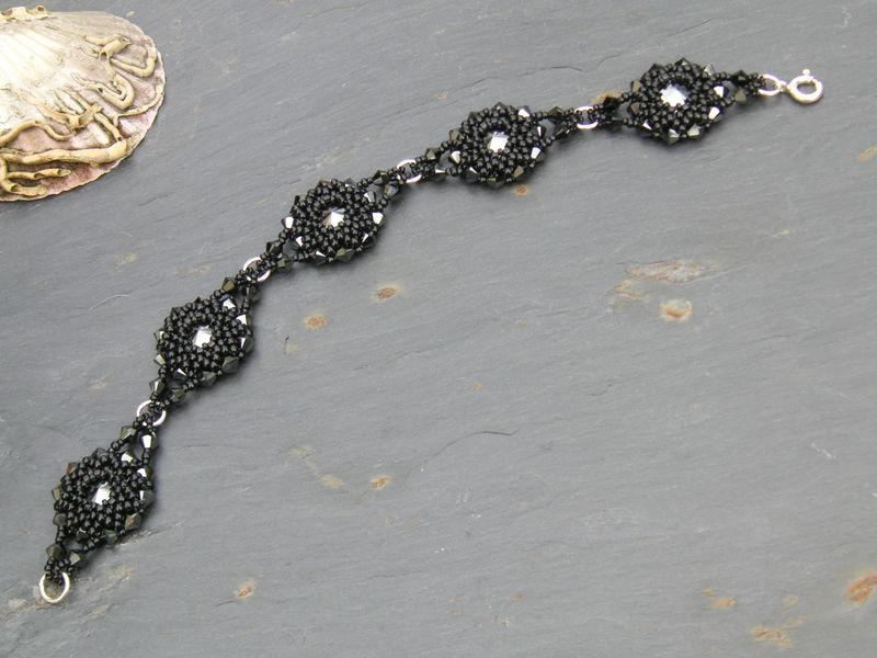 Bracelet Sereine noir OK