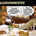 Sarkozy et strauss-kahn, champions de l'illusion