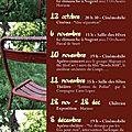 Programme culturel de l'automne
