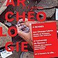 Programme des journées nationales de l'archéologie à rennes - 6, 7 et 8 juin 2014