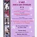 Exposition L'<b>Art</b> sous les étoiles N°3 Saint Michel l'Observatoire