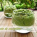 Pesto de courgettes
