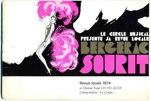 1974 : BERGERAC SOURIT