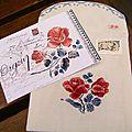 enveloppe et carte Digoin