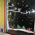 vitrine de noel pour creche