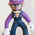 Action Figurine Nintendo Super <b>Mario</b> - Waluigi 10 cm- Characters Figure Collection Serie 3 キノじい - Banpresto, Together Plus
