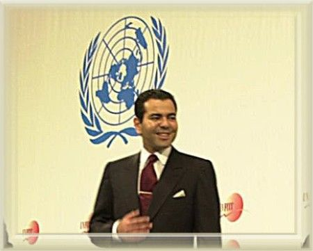 Moulay Rachid at the seventh Conference of the Parties to the UN Framework Convention on Climate Change