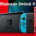 <b>Nintendo</b> <b>Switch</b> Firmware <b>9</b>.<b>0</b>.<b>0</b> est disponible dès maintenant