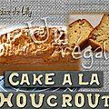 Cake à la choucroute