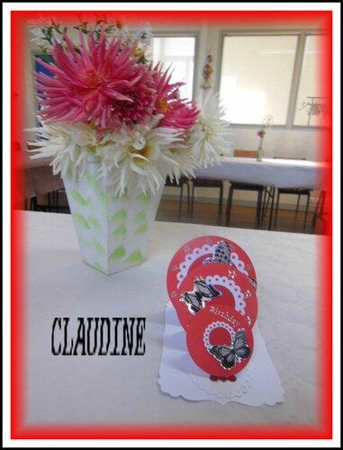 carte CLAUDINE
