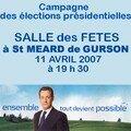 84-20070411 MEETING à St MEARD de GURSON