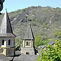 21_Conques_clochers abbatiale