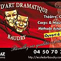 ECOLE D'ART DRAMATIQUE BAUDRY