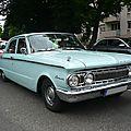 Mercury comet 4door sedan 1962