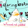 Daring bakers ...chocolate valentino et crème glacée maison vanille...