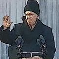 Nicolae ceaucescu, le dictateur communiste des carpates