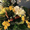 Des fleurs pour honorer la mémoire des membres de ma famille, qui sont partis....