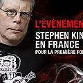 Stephen king en france!