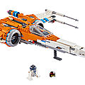 X-WING T-70 LEGO THE RISE OF SKYWALKER