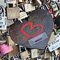Coeur, cadenas Pont des arts_9883