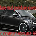 Audi <b>A1</b> noir mat, Audi <b>A1</b> noir mat , Audi <b>A1</b> covering noir mat, Audi <b>A1</b> peinture noir mat, Audi <b>A1</b> noir mat