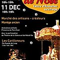 Marché de noel de saint grégoire les 10 et 11 décembre