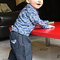 Encore un pantalon à taille élastiquée