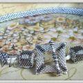 Nouveau crochet , collier et bracelet !