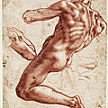 The Cleveland Museum of Art features more than 50 drawings by Italian Renaissance artist <b>Michelangelo</b>