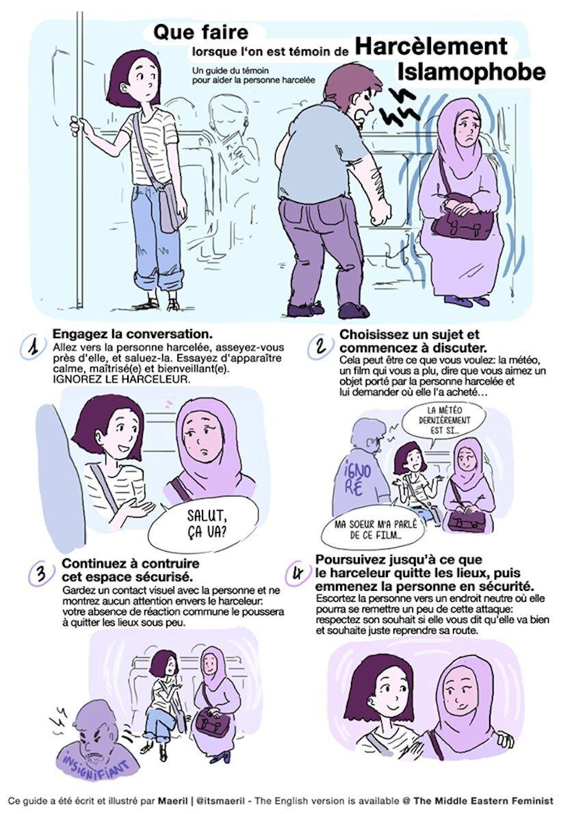 Harcèlement islamiste
