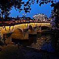 Magie des nuits parisiennes.